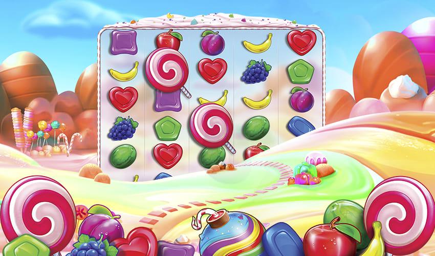 Подложка Sweet Bonanza