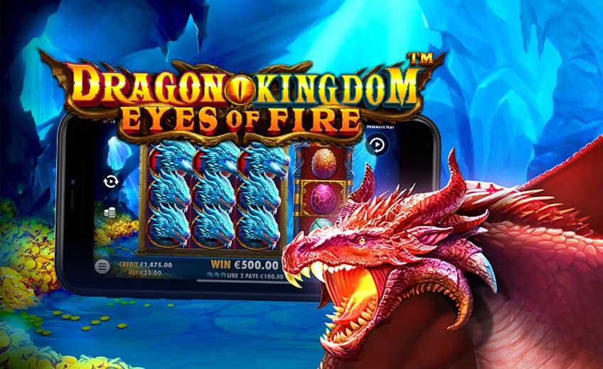 Новый слот Pragmatic Play: прогрессивный множитель до ×50 в Dragon Kingdom – Eyes of Fire