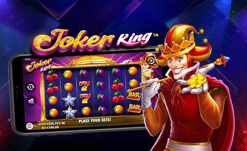 Новый слот Joker King: случайные множители до ×25 и дополнительные вайлд-символы
