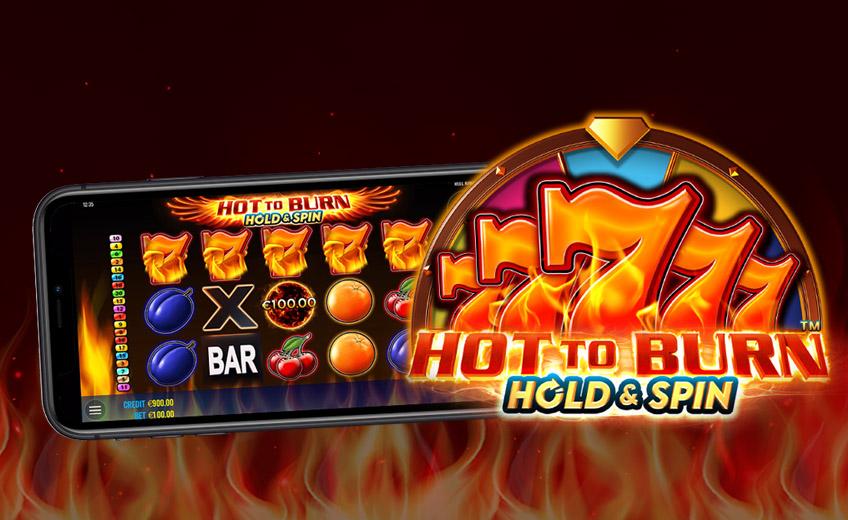 Hot to Burn Hold and Spin – классический слот с возможностью выиграть до ×20 000 ставок