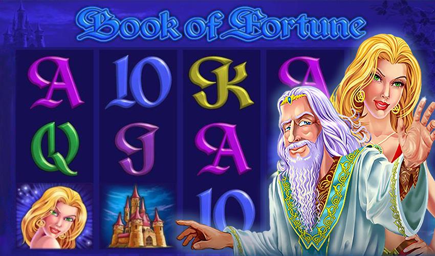 Подложка Book of Fortune