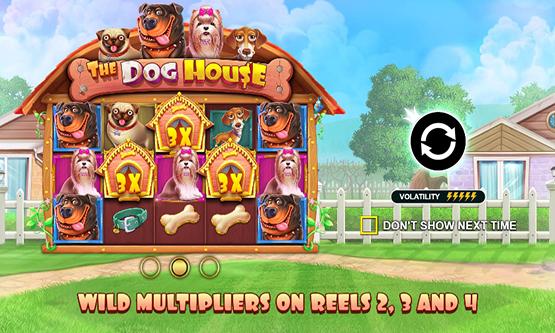 Скриншот 1 The Dog House Megaways