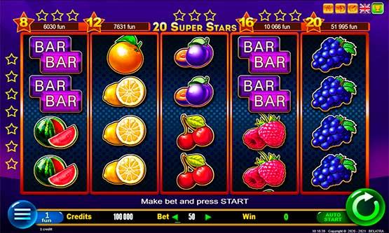 Скриншот 2 20 Super Stars