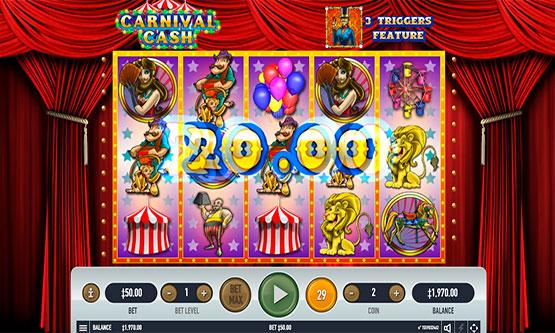 Скриншот 4 Carnival Cash